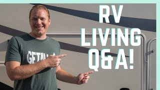 ANSWERING YOUR RV LIVING QUESTIONS! || RV QUARANTINE