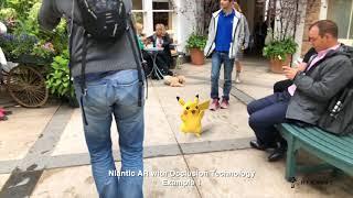 ポケモンGO開発会社が新AR技術を発表!ピカチュウが走り回る映像は衝撃的にリアル!