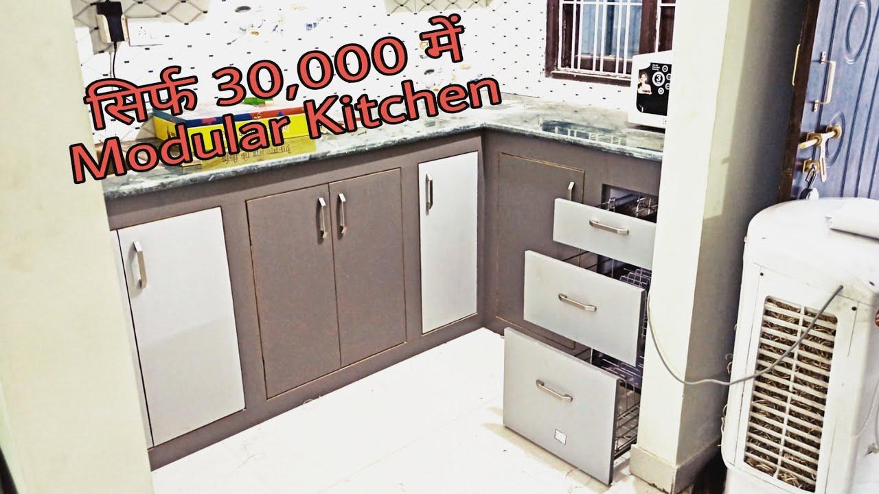 Semi Modular Kitchen   Modular Kitchen