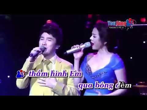Phố Vắng Em Rồi - Karaoke Dương Ngọc Thái -  Lệ Quyên