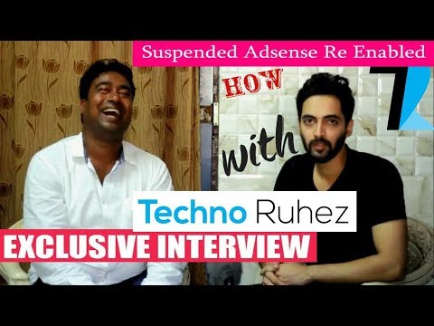 How Techno Ruhez Enabled his Permanently Suspended Youtube Adsense Account.