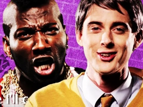 Mr T vs Mr Rogers. Epic Rap Battles of History