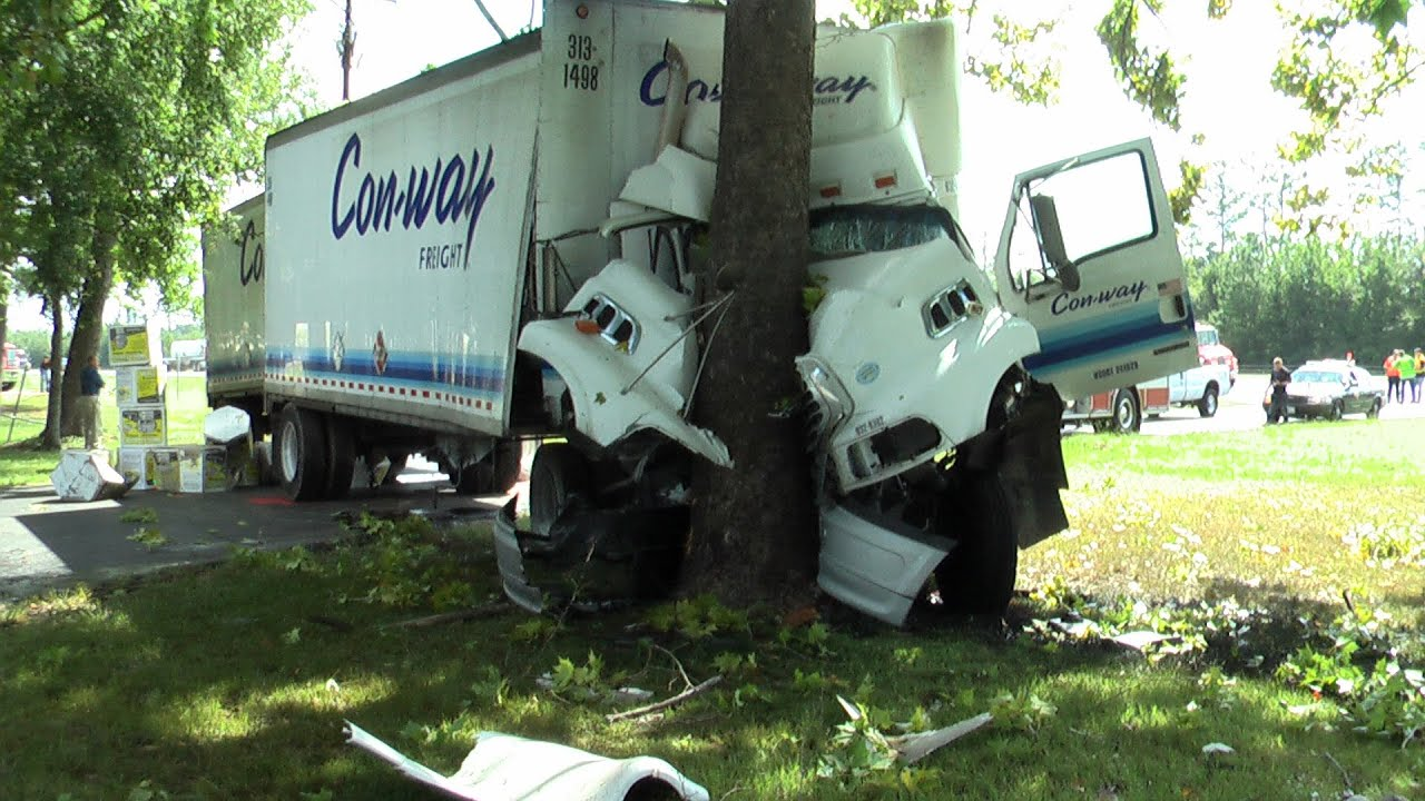 Crazy Truck Crash Amazing Trucks Accident Best Trailer