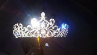 Корона для невесты на свадьбу 4,6 см 8715