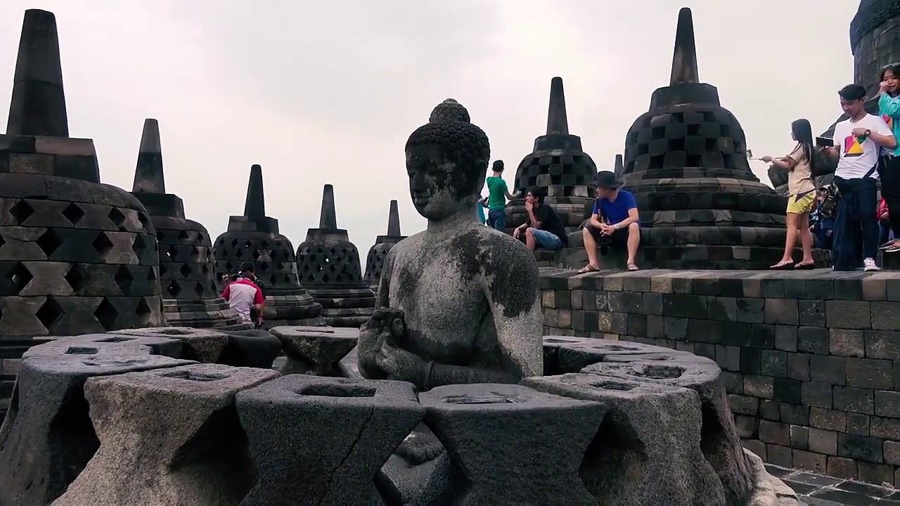 Боробудур. Храм в Индонезии. Остров Ява.