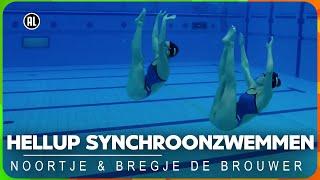 Hellup Synchroonzwemmen met Noortje en Bregje de Brouwer | ZAPPSPORT