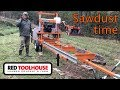 Norwood LM29 Sawmill Assembly Time Lapse