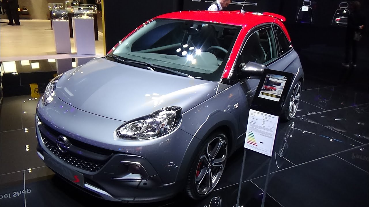 2016 opel adam s exterior and interior iaa frankfurt. Black Bedroom Furniture Sets. Home Design Ideas