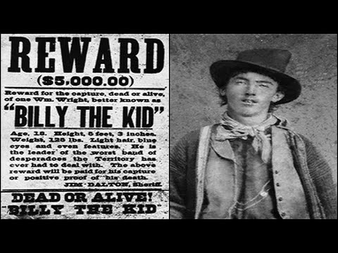 Bringing up the spirit of BILLY THE KID