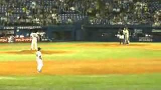 マートン様 年間211安打日本記録更新 2010.10.05