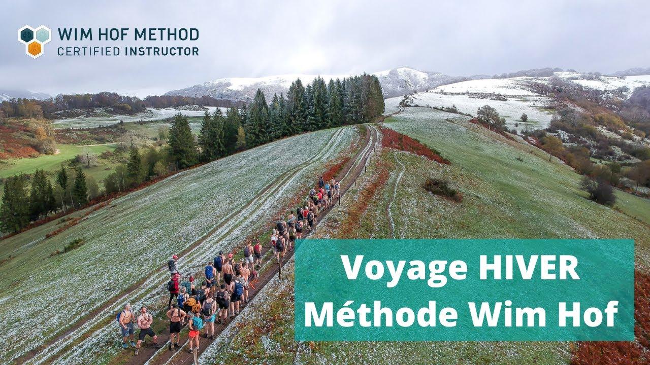 Voyage Hiver Wim Hof Method avec l'équipe INSPIRE