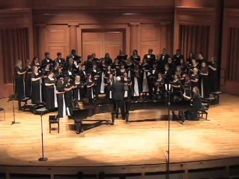 All Heaven Declares performed  Reinhardt University Choir