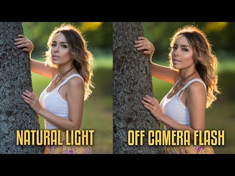 The Pros And Cons Of Using NATURAL Light And OFF CAMERA Flash!