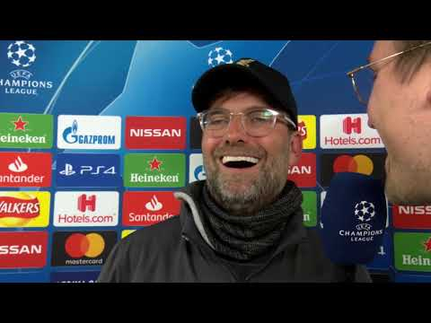 Jürgen Klopp im DAZN Interview nach Liverpool vs Barcelona