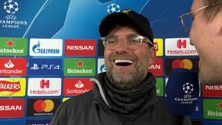 Jürgen Klopp im DAZN Interview nach Liverpool vs Barcelona