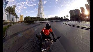 360 Video of Dubai - Sheikh Zayed Road   BurjKhalifa - DUBAI VR