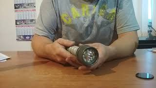 ZET корпус під акб 26650 - Магнітне управління головним кільцем з драйвером NEV прошивка