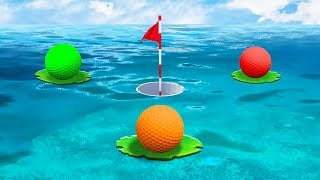 FLOAT OR LOSE THE WHOLE GAME! (Golf It)