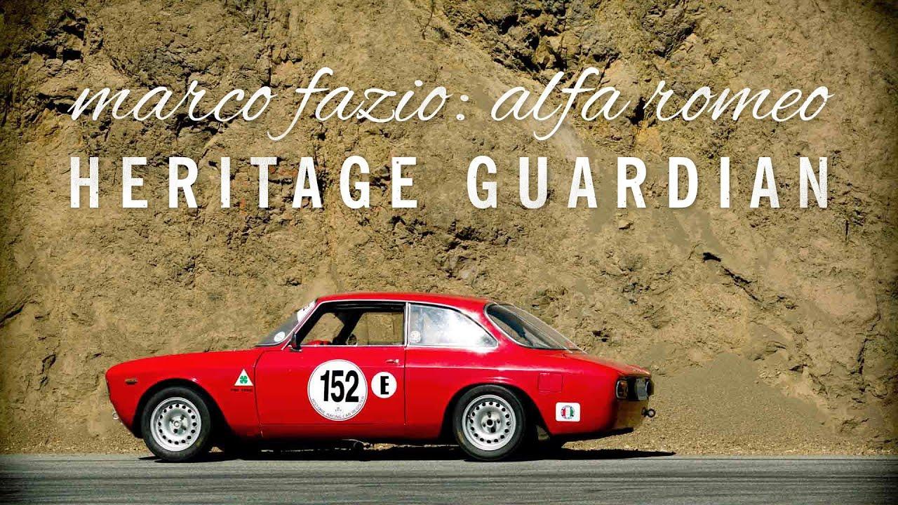 Marco Fazio: Alfa Romeo Heritage Guardian - YouTube