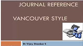 Vancouver style referencing a book chapter youtube 450 ccuart Images