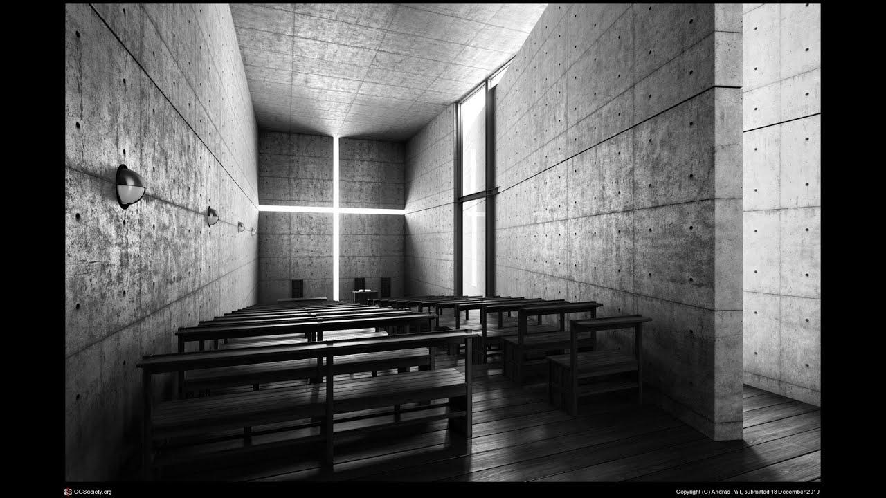 tadao ando church of light documentary   youtube