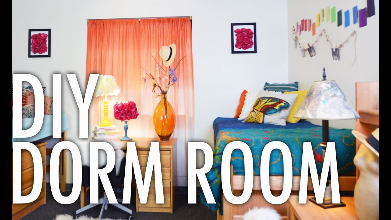 DIY Dorm Room Design Challenge with Mr. Kate