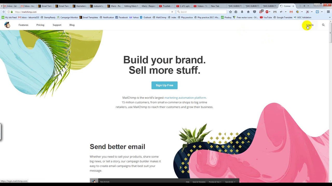 How To Import Our Email Template In Mailchimp YouTube - Mailchimp import template