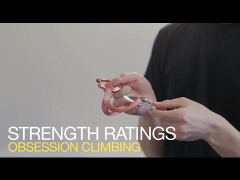Climbing tips: KILONEWTONS! (Strength ratings on climbing gear)
