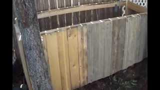Scrapwood Outdoor Storage Box