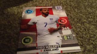 2 Pack Opening of the Adrenalyn XL England 2016 Trading Card Collection by Panini!