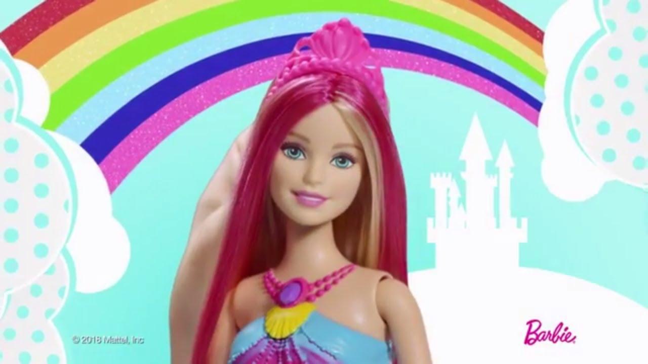 Barbie dreamtopia couleurs et lumi res dhc40 barbie france youtube - Barbie sirene couleur ...