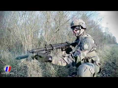 French Army - New HK 416 F Modular Assault Rifle [720p]