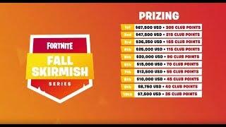 10M$ Fortnite Fall Skirmish - Week 2 | Ft. Ninja, TFUE, NICKMERCS & MORE