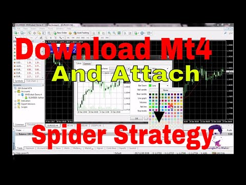 how-to-download-mt4-(metatrader4)-and-attach-spider-indicator-2019