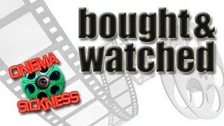 Bought & Watched (11/08/12)