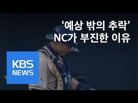 추락하는 NC…전력분석원 이탈까지 / KBS뉴스(News)