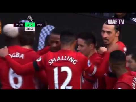Download Manchester United vs Watford 2 0 All Goals & EXTENDED Highlights Premier League 11022017 HD YouTu