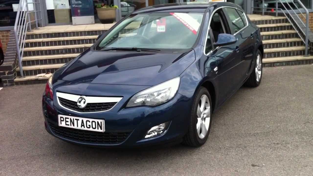 2010 60 Plate Vauxhall New Astra 1 6 16v Sri 5dr