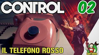 CONTROL - Gameplay ITA - Walkthrough #02 - IL TELEFONO ROSSO