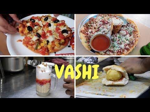 Street Food Tour In Vashi | Golmaal Dosa, Basic Frankie & Amazing Milkshake | Golgappa Girl