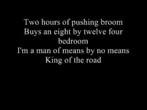 Trailers for sale or rent lyrics - Roger Miller