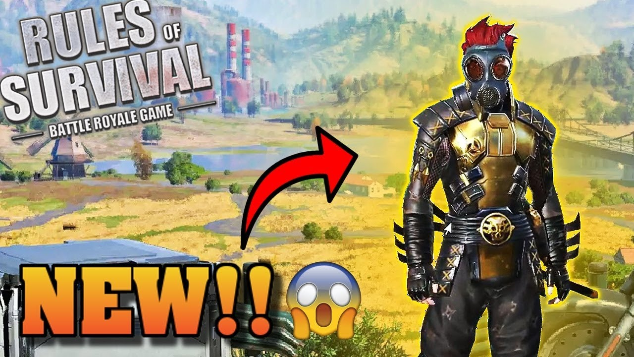 NEW GOLD SAMURAI SKIN *FIRST TO GET IT* (Rules of Survival #41)