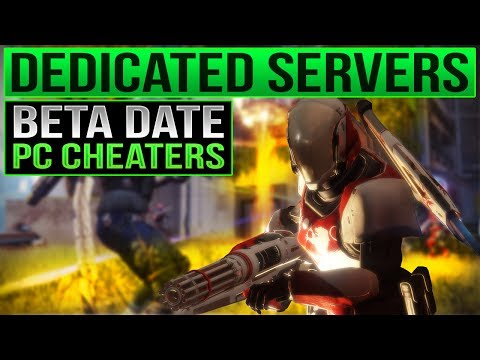 Destiny 2 Beta Release Date / Dedicated Servers? / Destiny 2 PC CHEATERS  - Destiny 2 News