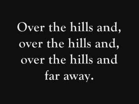 Over The Hills And Far Away Lyrics- Nightwish