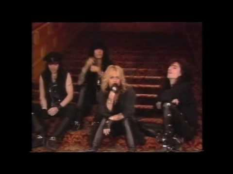 Motley Crue - Without you ,  MTV special