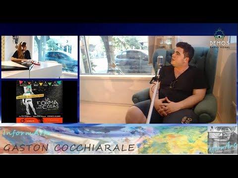 GASTÓN COCCHIARALE en InformArte con Ana Elizabeth Heredia 08 de diciembre parte 2