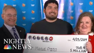 Winner Of $768 Million Powerball Jackpot Comes Forward | NBC Nightly News