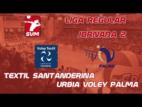 Urbia Voley Palma vs Voley Textil Santanderina