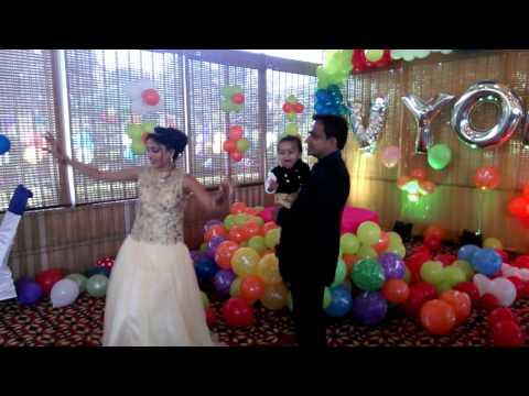 Birthday Dance -Vyom's Bday -Chanda hai Tu