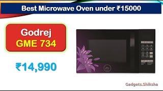 34-Liter Microwave Oven under 15000 Rupees {हिंदी में} | #Godrej GME 734 CR1 PM